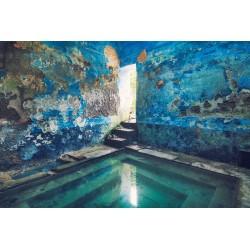 "Postcard ""Blue Pearl"""