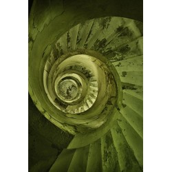 "Postcard ""Downward Spiral"""