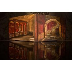 """Framed work """"théâtre baroque"""", handsigned"""
